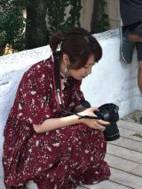 グラビアカメラマンに挑戦したSKE48高柳明音