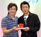 台湾映画『52Hz のラヴソング』トークショーに出席した(左から)ウェイ・ダーション監督、永瀬正敏 (C)ORICON NewS inc.