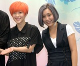 台湾映画『52Hz のラヴソング』トークショーに出席した(左から)シャオチョウ、ミッフィー (C)ORICON NewS inc.