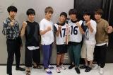 劇団Patchのメンバーと(写真左から)尾形大悟、田中亨、星璃、奥本智海くん、久保晴渡くん、吉本考志、藤戸佑飛