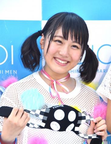デビューシングル「Sun!×3/二の足Dancing」のリリースイベントに登場したアップアップガールズ(2)の中沖凜 (C)ORICON NewS inc.