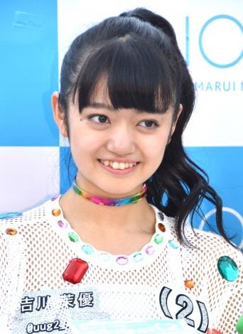 デビューシングル「Sun!×3/二の足Dancing」のリリースイベントに登場した吉川茉優 (C)ORICON NewS inc.