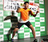 日めくりカレンダー『修造日めくり まいにち、テニス!』発刊記念トークイベントに出席した松岡修造 (C)ORICON NewS inc.