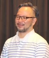 映画『望郷』完成披露上映会に登壇した菊池健雄監督 (C)ORICON NewS inc.
