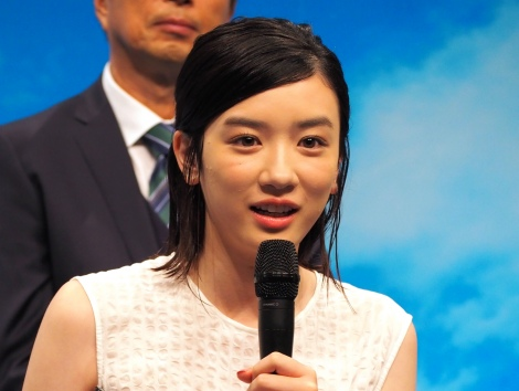 NHK連続テレビ小説第98作『半分、青い。』でヒロインを演じる永野芽郁 (C)ORICON NewS inc.
