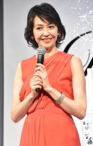 『MTG×富士フイルム 新商品発表会』に出席した賀来千香子 (C)ORICON NewS inc.