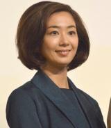 NHK土曜ドラマ『植木等とのぼせもん』の会見に出席した優香 (C)ORICON NewS inc.