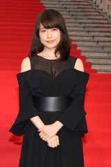 映画『ナラタージュ』完成披露イベントに出席した有村架純