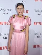 Netflixオリジナル映画『Death Note/デスノート』のジャパンプレミアに参加したマーガレット・クアリー (C)ORICON NewS inc.