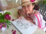 12歳のアーティスト・Lara