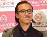 シンガポール政府観光局主催の新ブランド『Passion Maide Possible』の発表会に参加したレスリー・キー氏 (C)ORICON NewS inc.