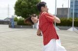 小早川冬彦(小泉孝太郎)に大外刈りをかける田知本選手(C)テレビ東京