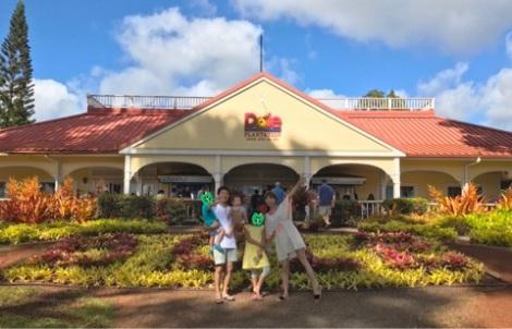 家族でのハワイ旅行を公開したhitomi