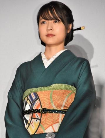 『関ヶ原』初日舞台あいさつに出席した有村架純 (C)ORICON NewS inc.