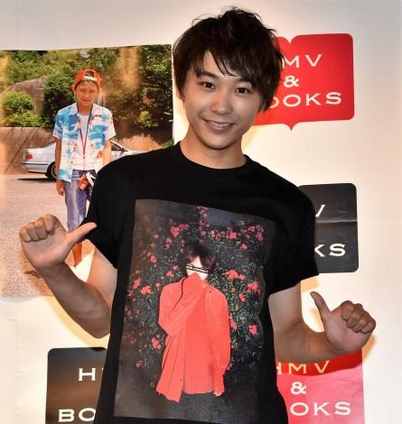 写真集『SUGA。-素顔-』発売記念イベントを開催した須賀健太 (C)ORICON NewS inc.