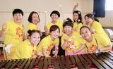 『24時間テレビ40』で『イッテQ!』女芸人軍団と水卜麻美アナがコンビネーションマリンバに挑戦 (C)ORICON NewS inc.