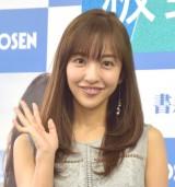 3rd写真集『release』(講談社)出版記念お渡し会を開催した板野友美 (C)ORICON NewS inc.
