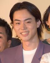 映画『あゝ、荒野』完成披露上映会に登壇した菅田将暉 (C)ORICON NewS inc.