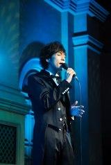 「ダンディーひつじ執事」の発売記念イベントを行った藤澤ノリマサ
