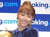 ブッキング・ドットコム『情熱トラベラープロジェクト』発表会に参加した若槻千夏 (C)ORICON NewS inc.