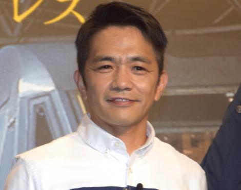 韓国映画『新感染 ファイナル・エクスプレス』の公開直前イベントに参加した中川家・剛 (C)ORICON NewS inc.
