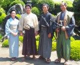 (左から)黒木華、鈴木亮平、瑛太、沢村一樹 (C)ORICON NewS inc.