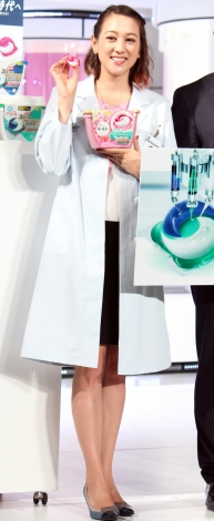 アリエールの新商品『ジェルボール3D』発売記念イベントに登場したSHELLY (C)ORICON NewS inc.