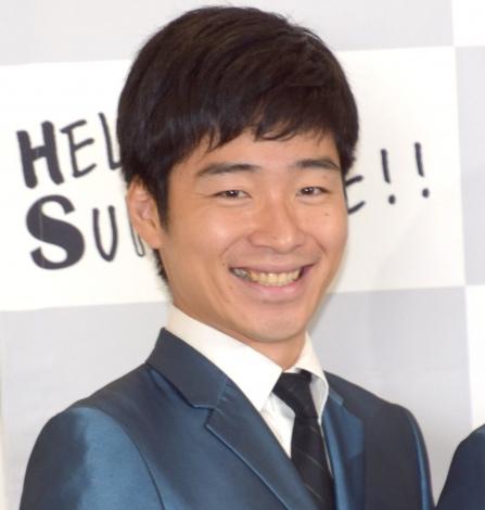 カラーコンタクトレンズシリーズ『Hello Sunshine!!』のお披露目会に参加したジャルジャル・後藤淳平 (C)ORICON NewS inc.