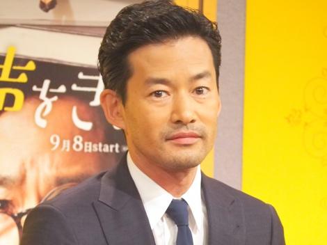 46歳等身大の自分を語った竹野内豊=NHKの新ドラマ『この声をきみに』の試写会 (C)ORICON NewS inc.