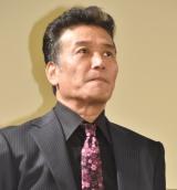 映画『ブレイブX(テン)極道十勇士』の舞台あいさつに出席した三浦浩一 (C)ORICON NewS inc.