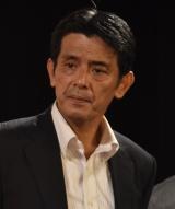 映画『ブレイブX(テン)極道十勇士』の舞台あいさつに出席した新藤栄作 (C)ORICON NewS inc.