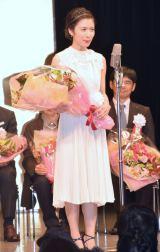 『第40回山路ふみ子映画賞』贈呈式に出席した松岡茉優 (C)ORICON NewS inc.