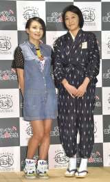(左から)misono、河合美智子 (C)ORICON NewS inc.