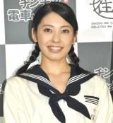 音楽劇『チンチン電車と女学生』制作発表会に出席した塩月綾香 (C)ORICON NewS inc.