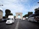 KAT-TUN・上田竜也が挑戦する『ヨーロッパ横断1300km 爆走!ガチンコラーメン屋台』(10月9日放送)のスタート地点となるフランス・パリの凱旋門