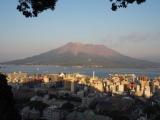 城山山頂から見た桜島 (C)ORICON NewS inc.