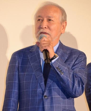 『東京喰種 トーキョーグール』の初日舞台あいさつに出席した村井國夫 (C)ORICON NewS inc.