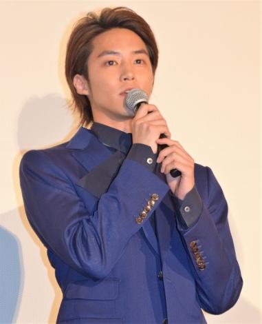『東京喰種 トーキョーグール』の初日舞台あいさつに出席した白石隼也 (C)ORICON NewS inc.