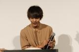 映画『東京喰種 トーキョーグール』の公開記念舞台あいさつに登壇した窪田正孝
