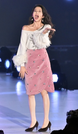 『KANSAI COLLECTION 2017 AUTUMN&WINTER』に登場した河北麻友子 (C)ORICON NewS inc.