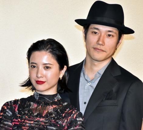映画『ユリゴコロ』完成披露試写会に出席した(左から)吉高由里子、松山ケンイチ (C)ORICON NewS inc.