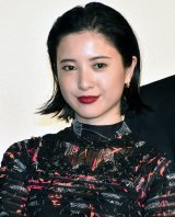 映画『ユリゴコロ』の完成披露試写会に出席した吉高由里子 (C)ORICON NewS inc.