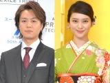 結婚を発表した(左から)EXILE TAKAHIRO、武井咲 (C)ORICON NewS inc.