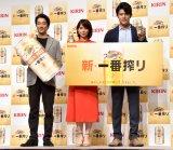 (左から)堤真一、石田ゆり子、鈴木亮平 (C)ORICON NewS inc.