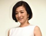 スペシャルドラマ『琥珀』の会見に出席した鈴木京香 (C)ORICON NewS inc.