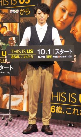 海外ドラマ『THIS IS US 36歳、これから』の試写会に出席した高橋一生 (C)ORICON NewS inc.