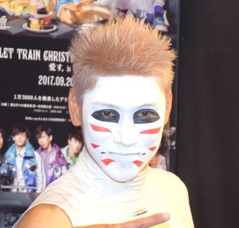 """ゴールデンボンバーの樽美酒研二=『HMV presents BULLET TRAIN 5th Anniversary 「超フェス」""""超""""イロモノフェス』(C)ORICON NewS inc."""
