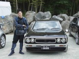 Amazonプライムビデオの新作オリジナル・バラエティーシリーズ『戦闘車』に出演する佐田正樹(C)2017 YD Creation