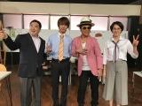コント「君の中のマーズ」出演者(左から)塚地武雅、横浜流星、ムロツヨシ、臼田あさ美(C)NHK