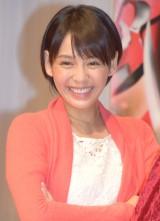 『仮面ライダーゴースト』の制作発表会に出席した大沢ひかる (C)ORICON NewS inc.
